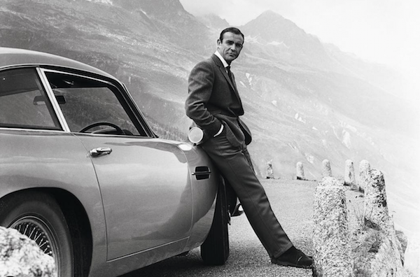 Sean Connery: SPYSCAPE Driven x 007