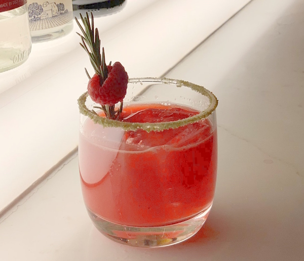 Roseberry cocktail