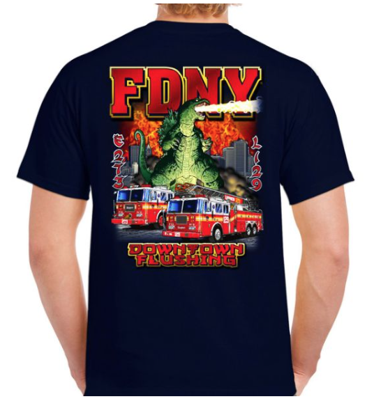 t-shirt fdny zone nyc