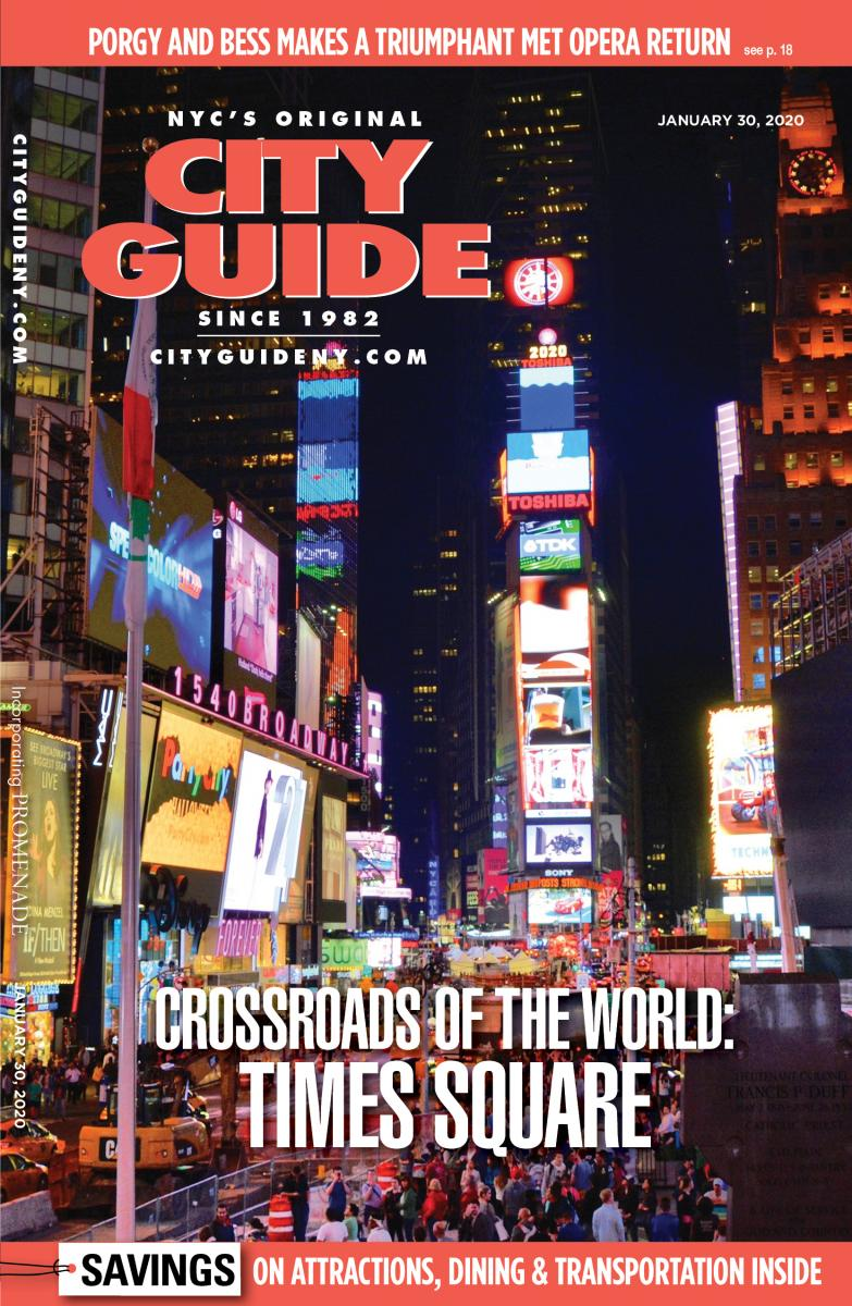 times square city guide cover