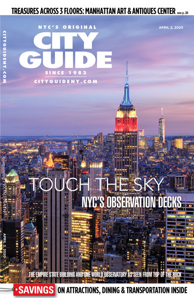 observation decks city guide cover