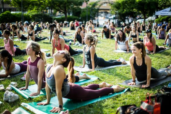 meatpacking yoga free summer