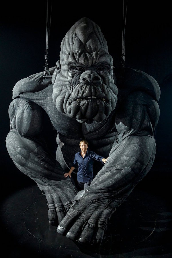 King Kong Sonny Tilders and Creature Technology