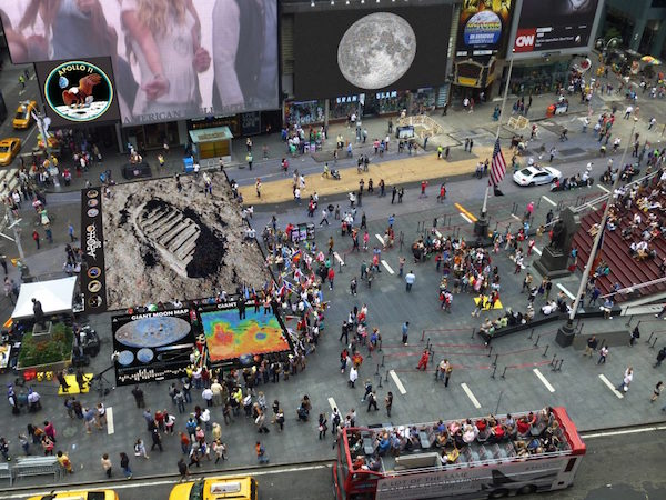 Times Square Tranquility Base