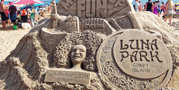 Coney Island Sculpting Contest
