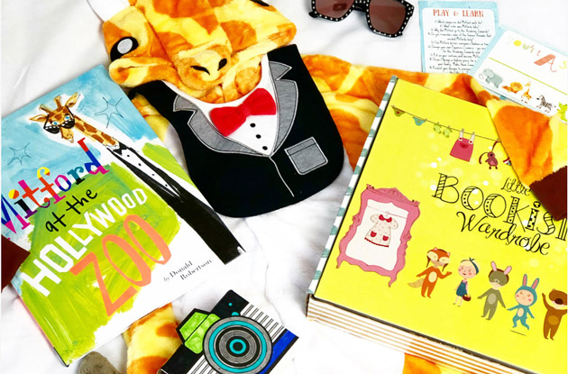 Little Bookish Wardrobe subscription box for kids