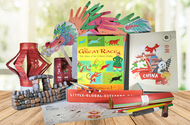 Little Global Citizens subscription box for kids