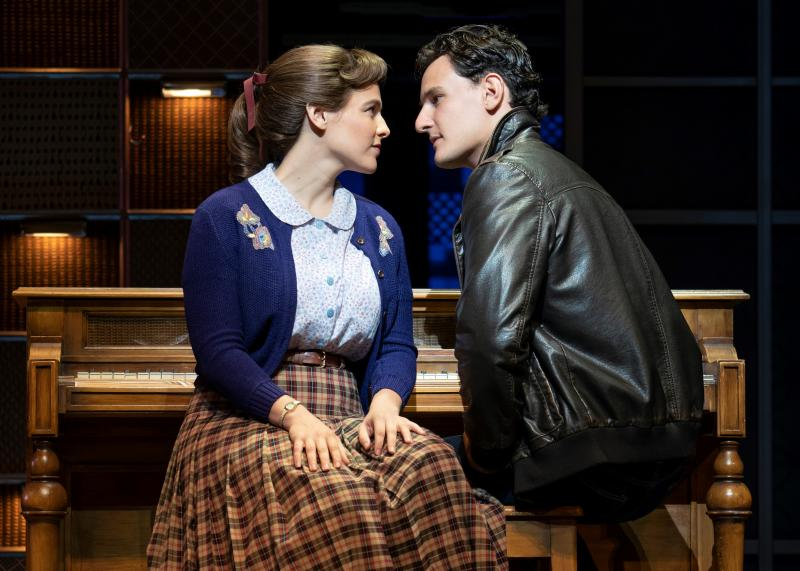 Sarah Bockel and Cory Jeacoma Carole King Musical