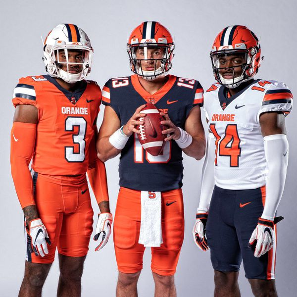 cuse orange football new unis