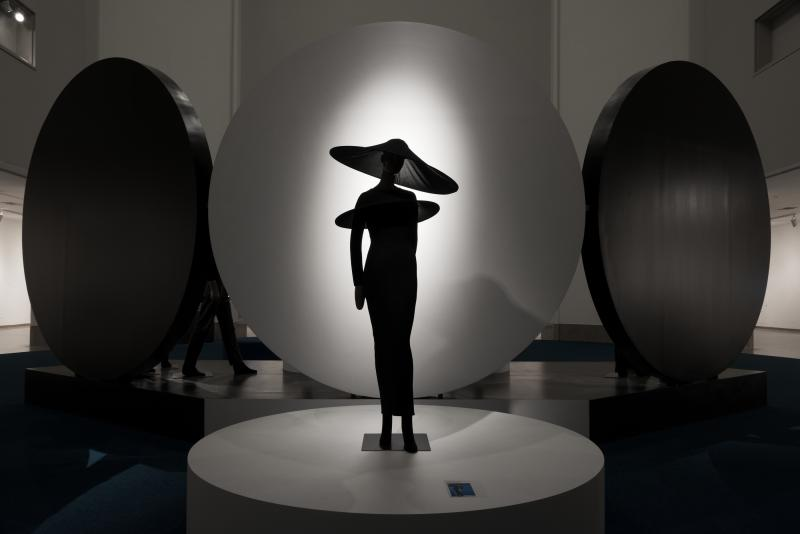 pierre cardin future fashion installation view