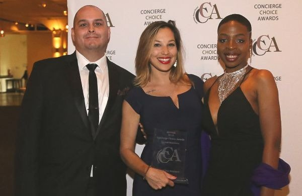 concierge choice awards cocktail experience