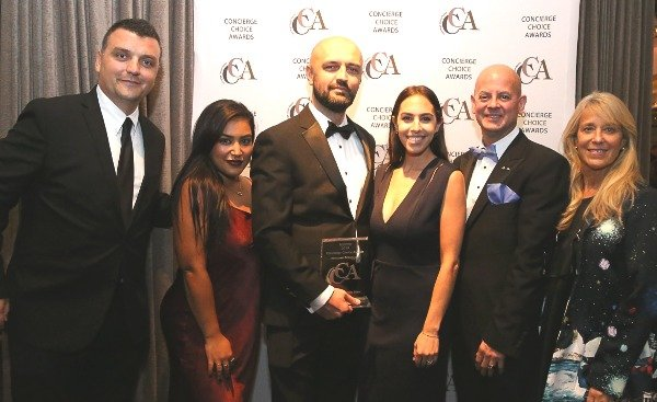concierge choice awards restaurant experience