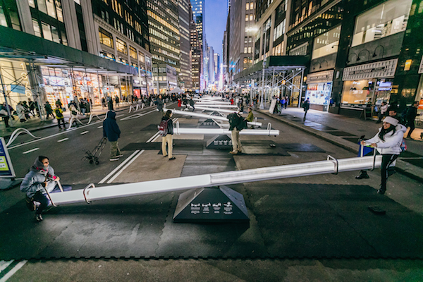 Impulse seesaw Garment District