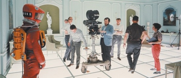 2001 A Space Odyssey production still