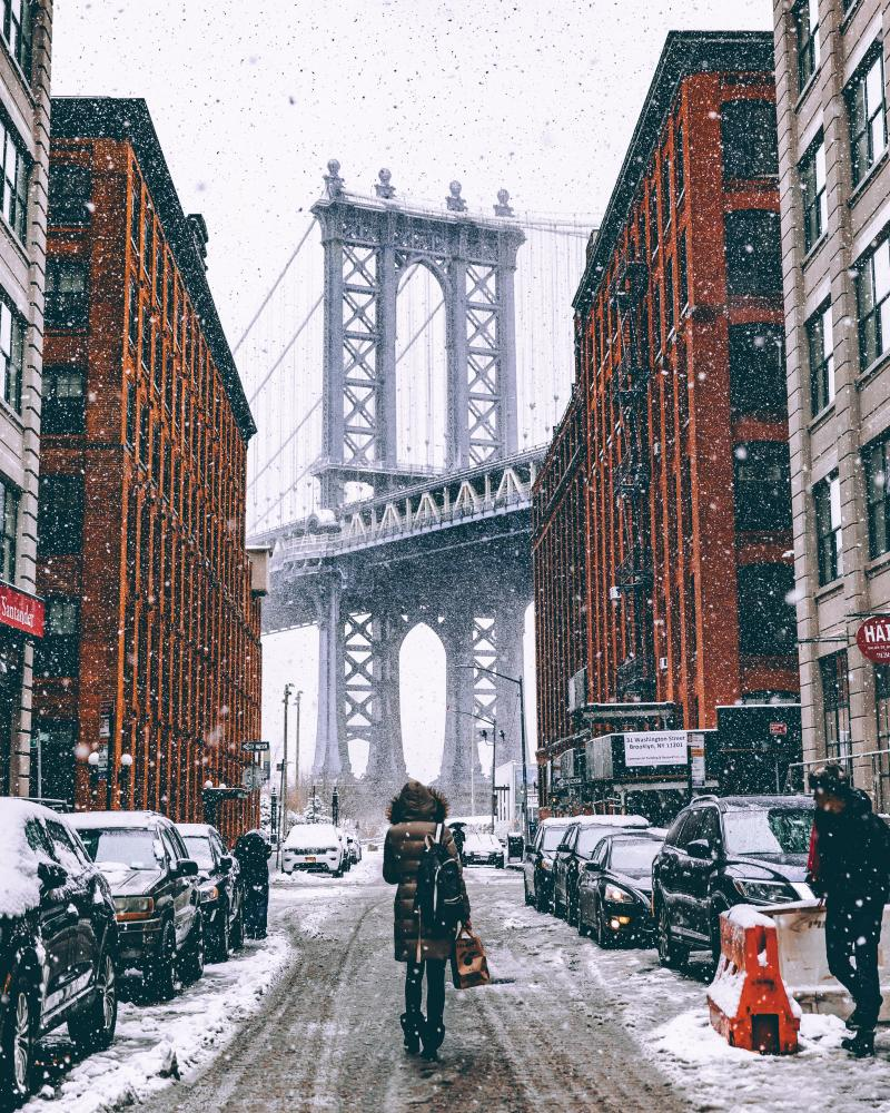 dunbo winter manhattan bridge