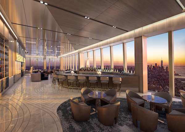 Peak Restaurant Hudson Yards