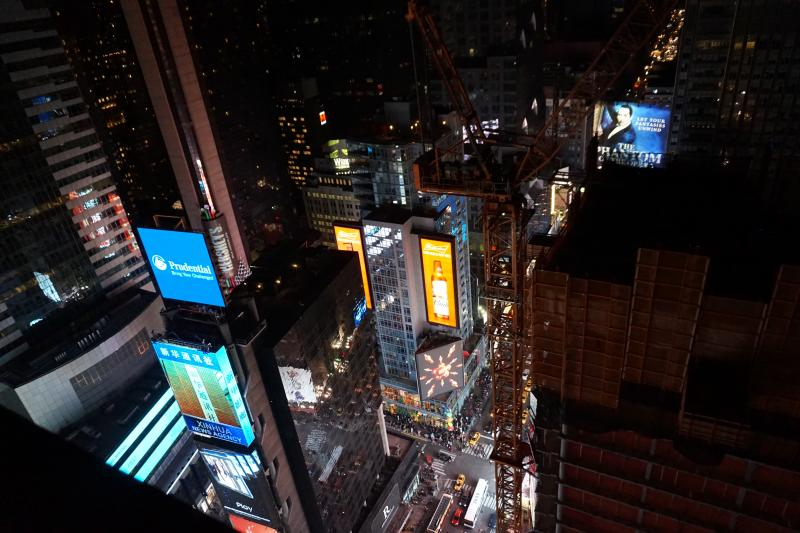 times square hotel view