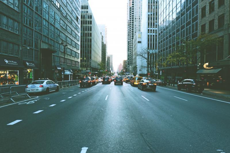 driving midtown manhattan
