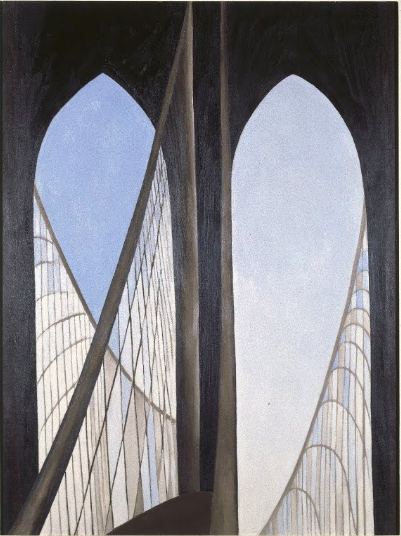 georgia okeeffe brooklyn bridge