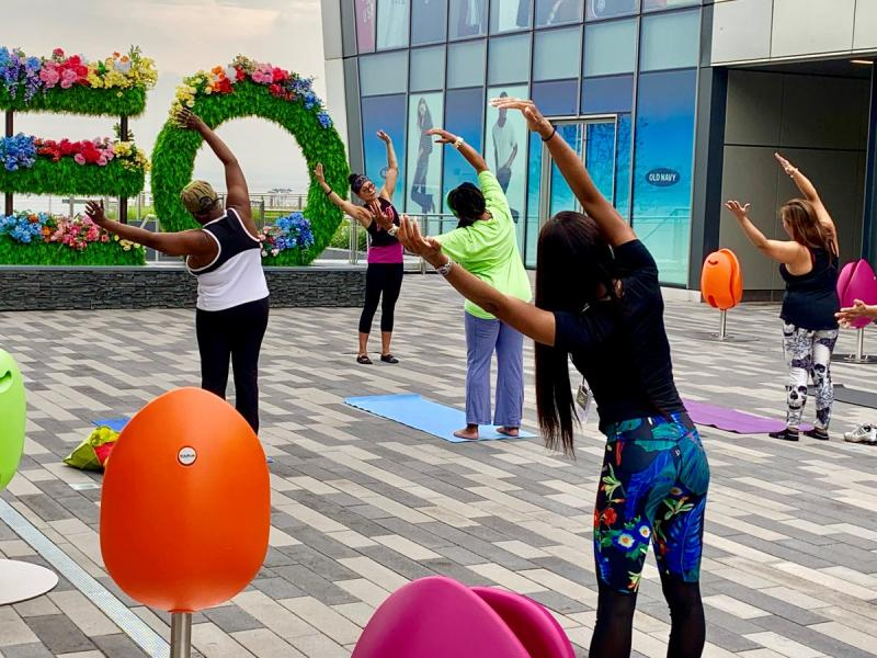 empire outlets fit yoga sundays