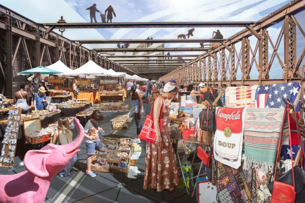 brooklyn bridge design competition bazaar