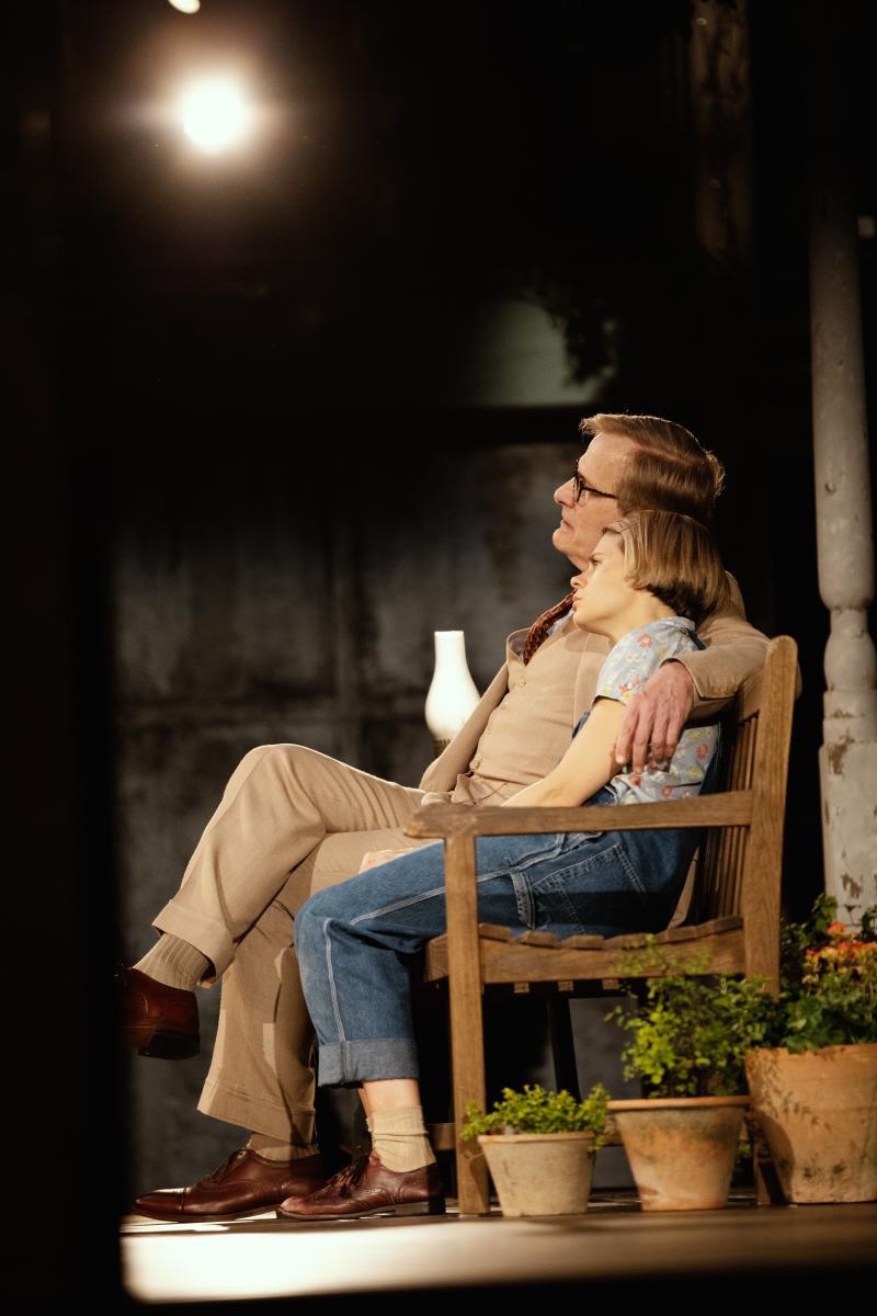 Celia Keenan-Bolger and Jeff Daniels mockingbird
