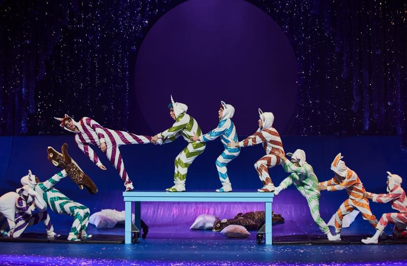 twas the night before cirque holiday show