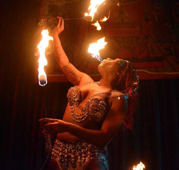 fire eater coney island sideshow