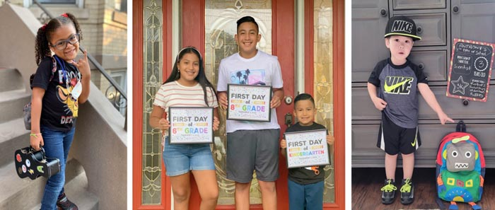 nymp's first day of school 2021 contest winners