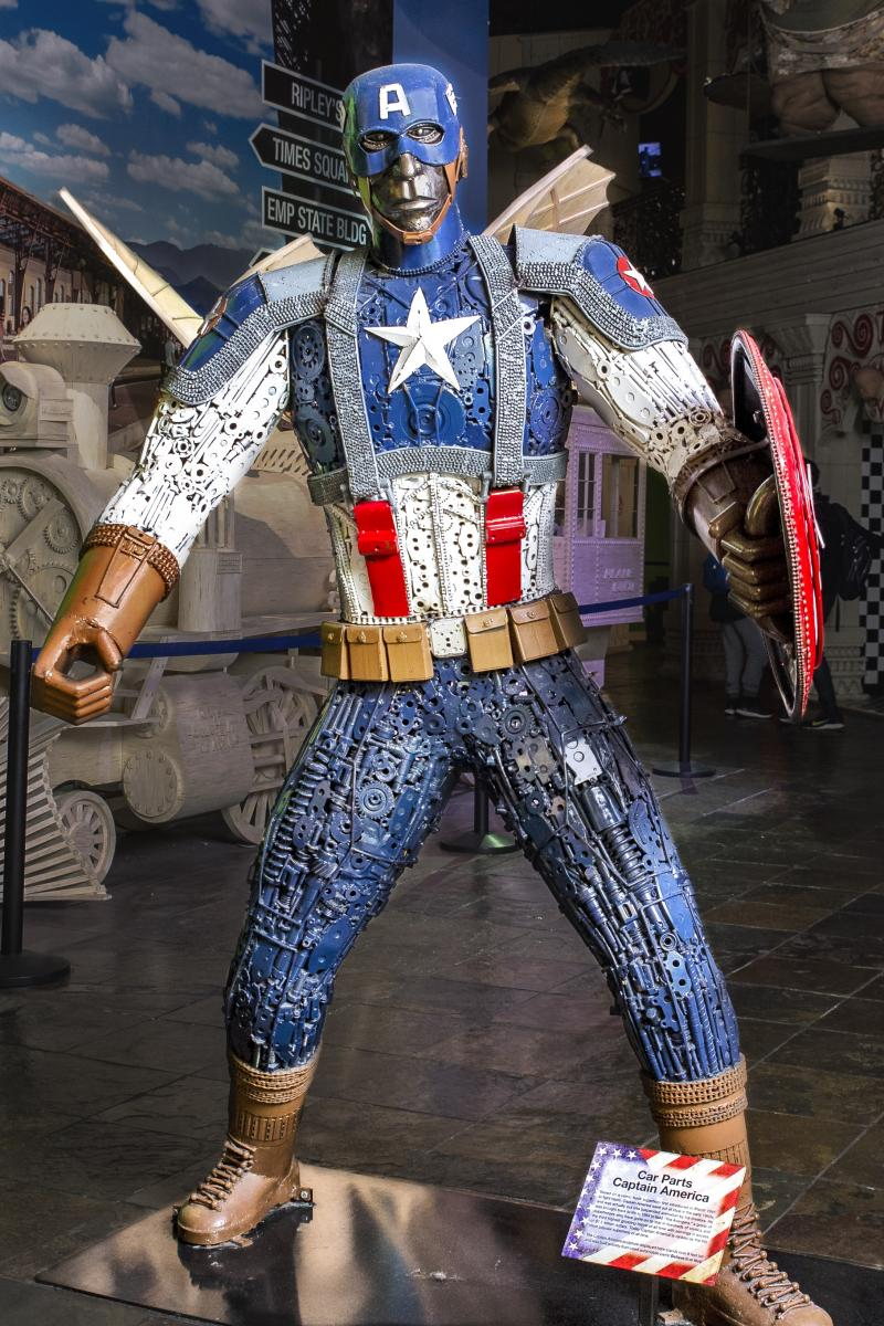 captain america ripleys times square