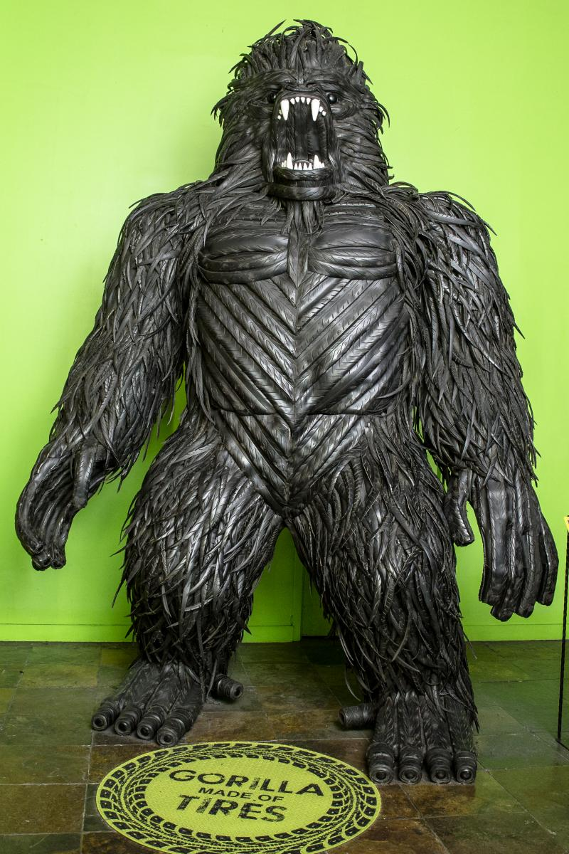 ripleys tire gorilla