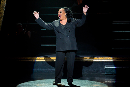 "Roz Ryan commands the stage as Matron ""Mama"" Morton in Chicago on Broadway"