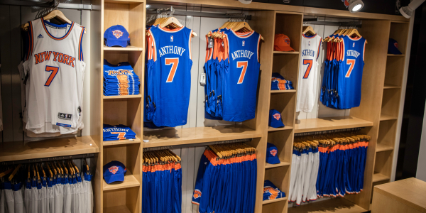 nba store knicks nyc