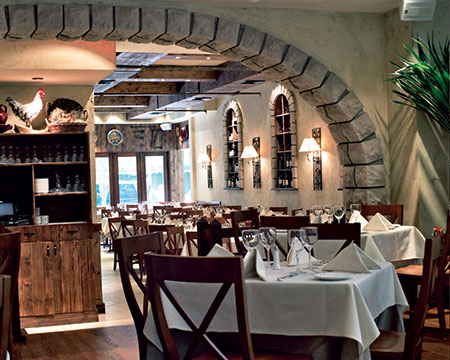 La Masseria restaurant in NYC