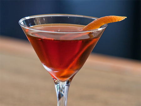 Great summertime drinks include the Negroni