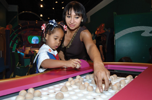 Cyberchase exhibit at Long Island Children's Museum