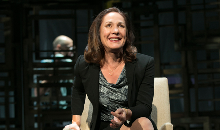 Laurie Metcalf in The Other Place