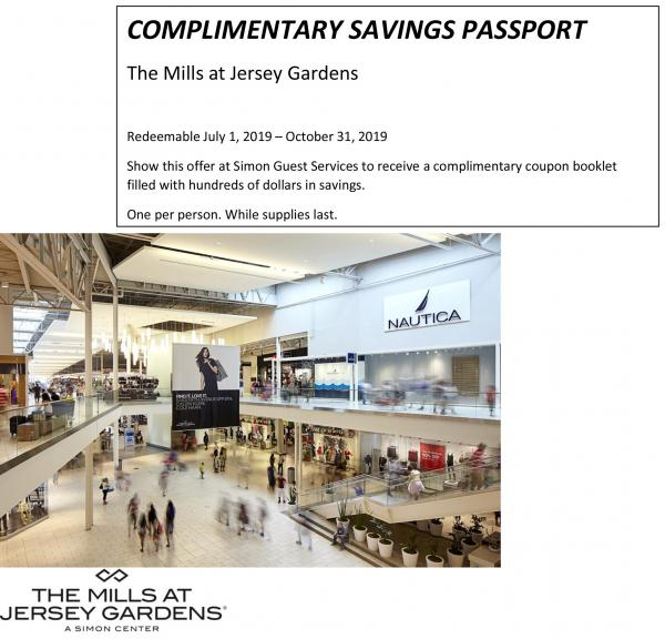 The mills at jersey gardens free coupon booklet - Michael kors jersey gardens mall ...