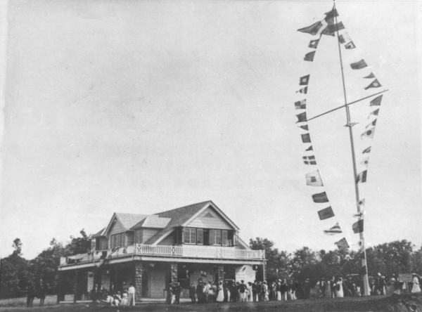Opening Day of the Bayside Yacht Club, 1904