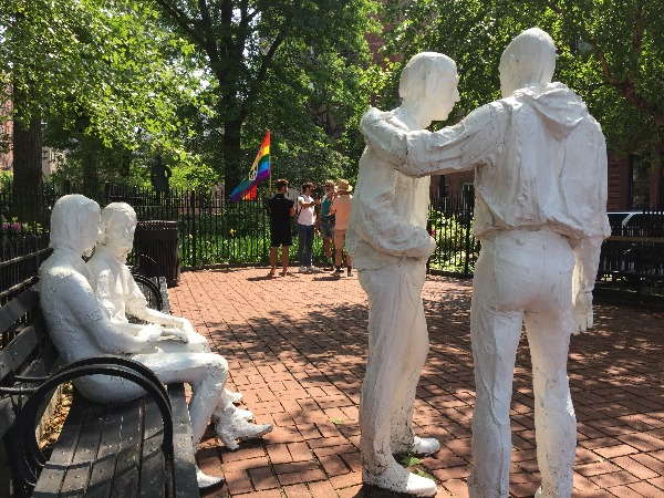 gay liberation monument christopher street