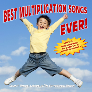 Best Multiplication Songs Ever! CD