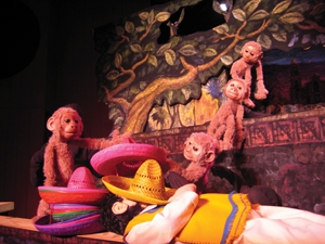 Hudson Vagabond Puppets, Caps for Sale
