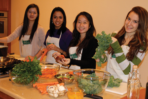 teens cooking class; The Food Evolution