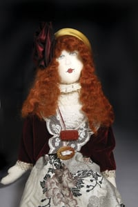 doll by Barbara Soloff Levy. Photo by George Potanovic, Jr.