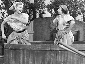 """I Love Lucy"" squashing grapes episode"