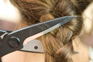 Locks of Love; cutting hair