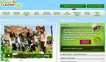 Grow to Learn NYC; www.growtolearn.org