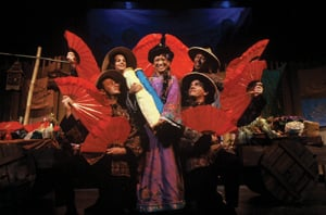 The Song of Mulan, children's theater