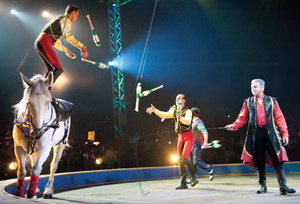 Donnert Brothers, Ringling Bros. and Barnum and Bailey Circus, Fully Charged