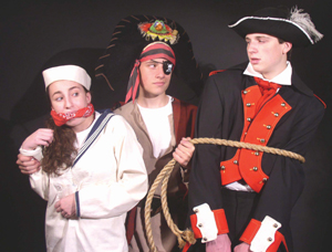Pirates of Treasure Island; Arena Players children's theater